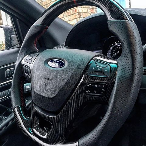 Dinmann CF | Ford Raptor SVT | Steering Wheel - With up to ...