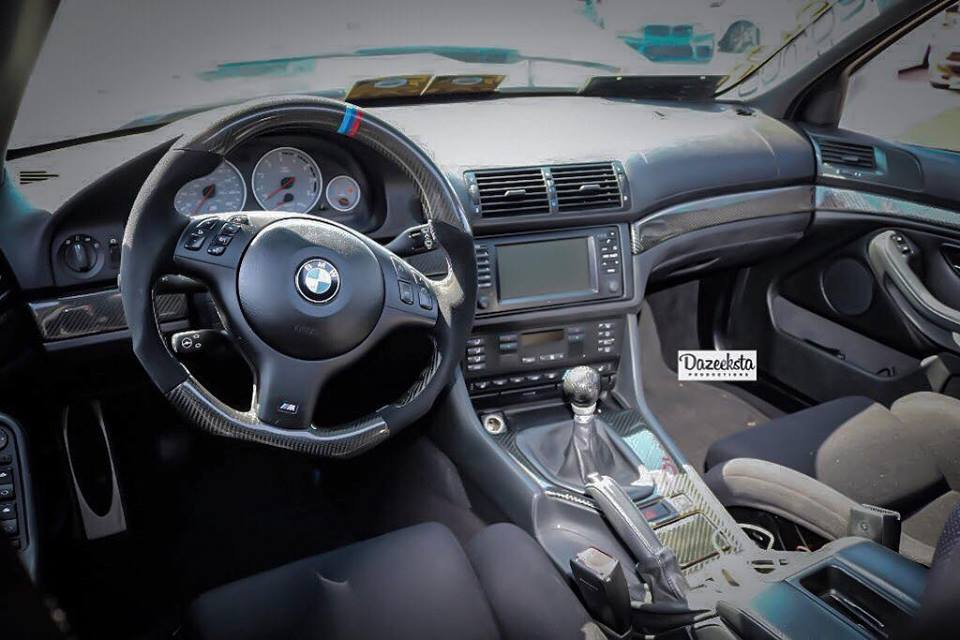 Dinmann CF Steering Wheel | E46/E39/E38/E53 M3/M5 |- with $250 Refund Option