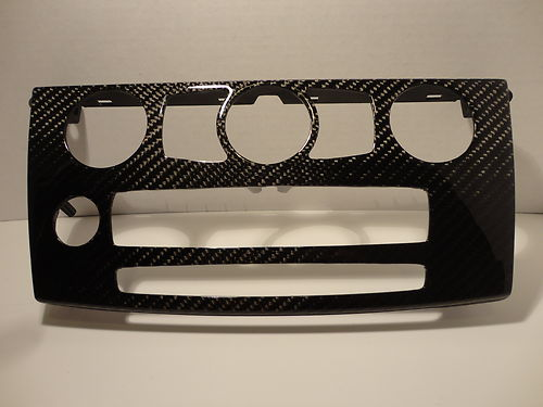 Dinmann CF | BMW E60 | HVAC Cover Trim