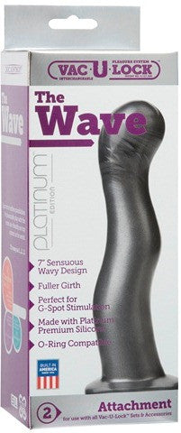 The Wave Charcoal | Dildo @ TrySexMachines | Australia