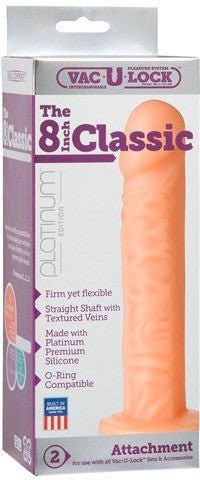"The Classic 8"" White 