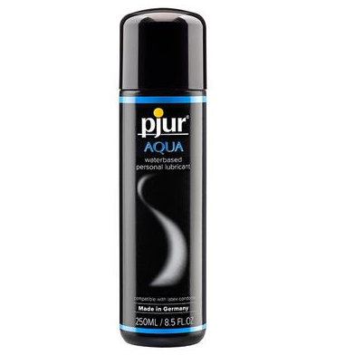Pjur Aqua 250 ml bottle |  @ TrySexMachines | Australia