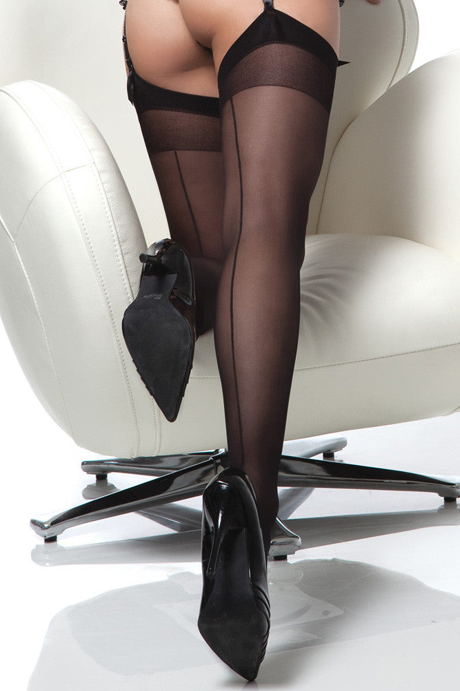 Stockings with Back Seam