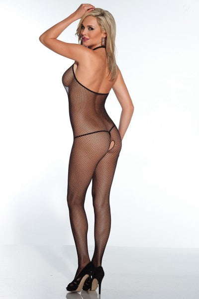 Fishnet Crotchless Body Stocking
