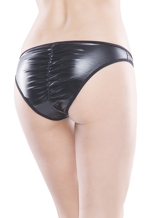 Wetlook Crotchless Panty