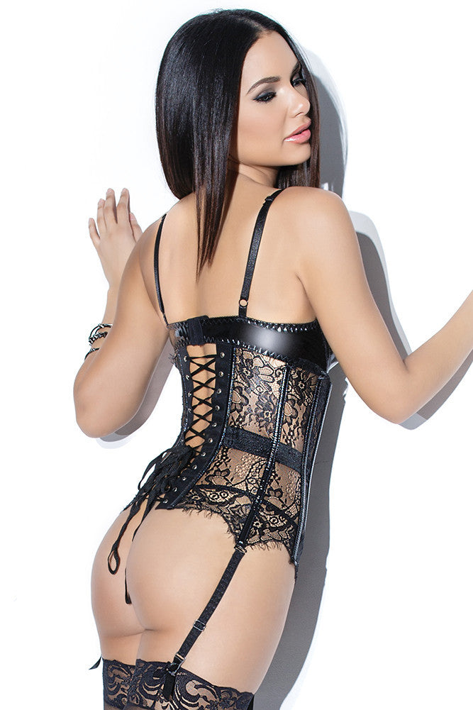 Eyelash Lace Waist Cincher