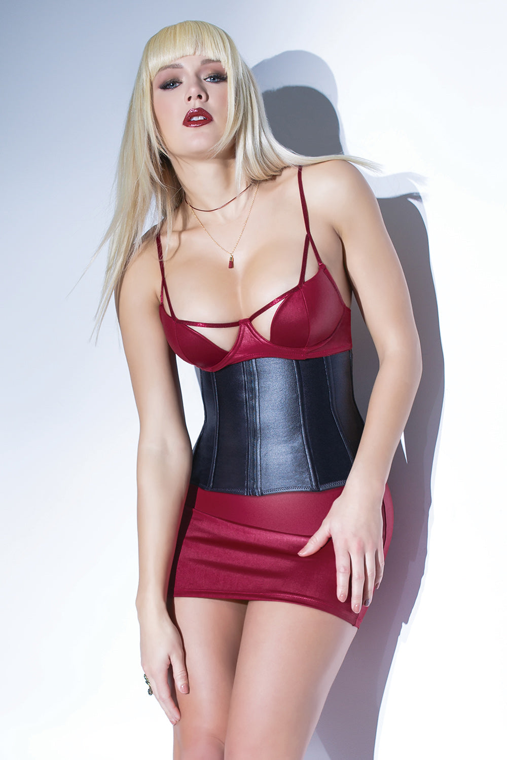 Matte Wetlook Waist Cincher