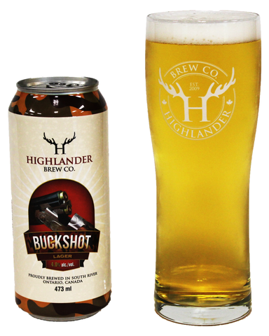 Buckshot Lager - Highlander Brew Co