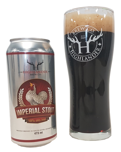 Highlander Imperial Stout - Highlander Brew Co