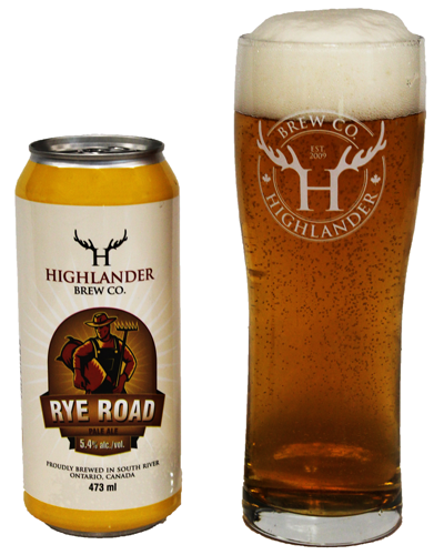 Rye Road - Highlander Brew Co