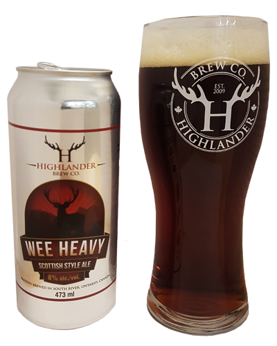 Wee heavy - Highlander Brew Co