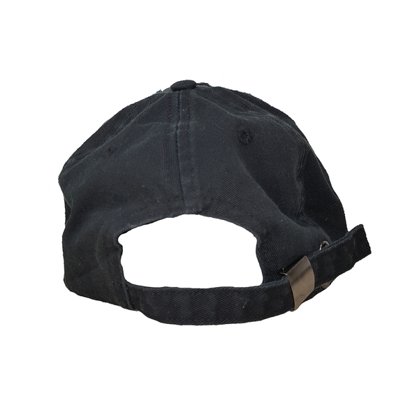GAMBLR. - Black Distressed Dad Cap