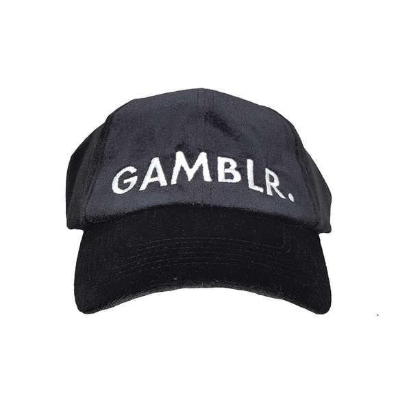 GAMBLR. - Black Velvet Dad Cap