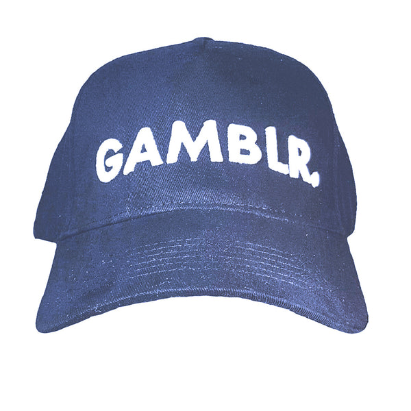 GAMBLR. - Royal Blue Black Classic Dad Cap