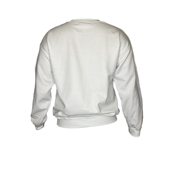 GAMBLR. - LIFEOFAGAMBLR. Crew Neck Sweater White