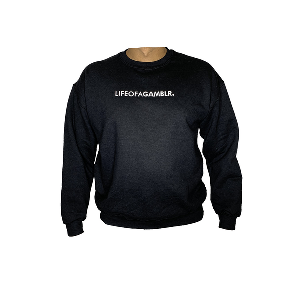 GAMBLR. - LIFEOFAGAMBLR. Crew Neck Sweater Black