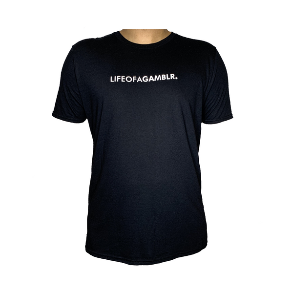 GAMBLR. - LIFEOFAGAMBLR. Black Brand Shirt