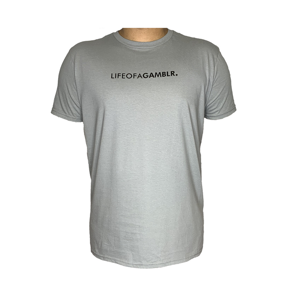 GAMBLR. - LIFEOFAGAMBLR. Grey Brand Shirt