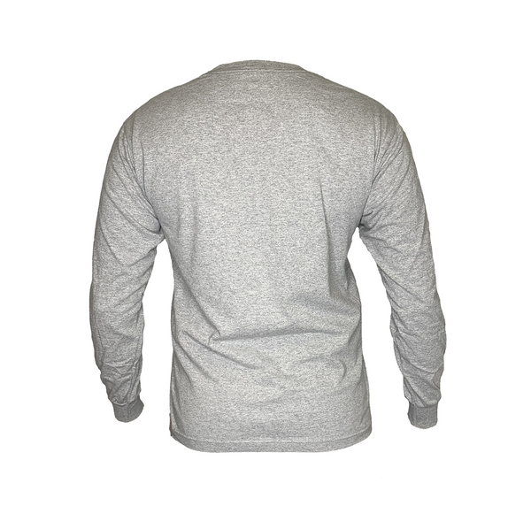 GAMBLR. - LIFEOFAGAMBLR.  Long Sleeve Grey Brand Shirt