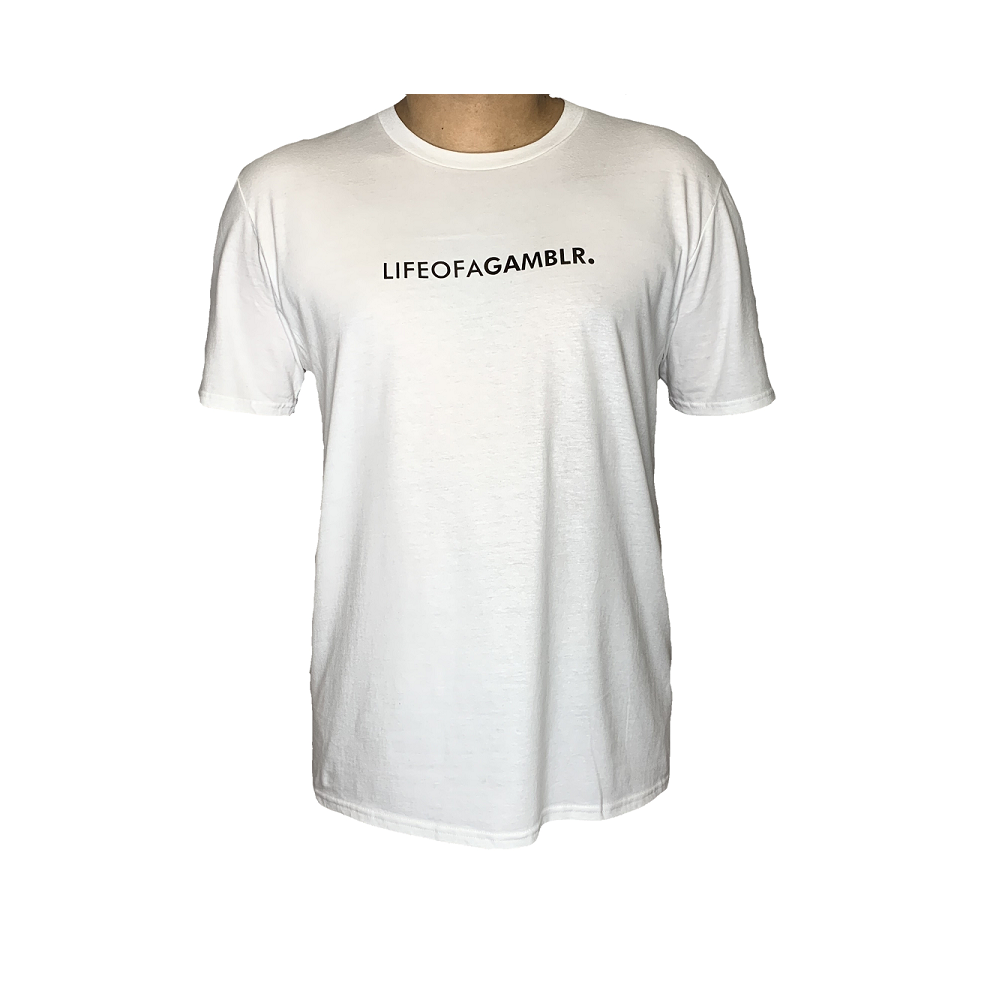 GAMBLR. - LIFEOFAGAMBLR. White Brand Shirt
