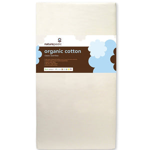 Organic Cotton Classic 150 Seamless Crib Mattress