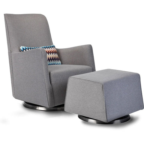 Grazia Swivel glider and Ottoman - Piccolino