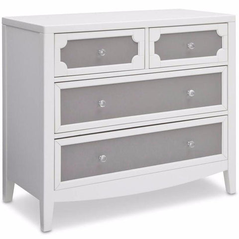 Hollywood 4 Drawer Dresser - Piccolino
