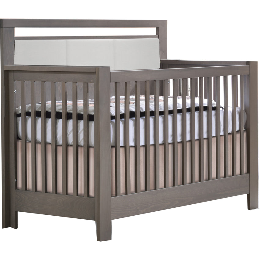 Milano Crib With Upholstered Panel