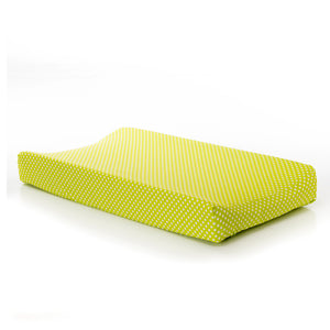 Blossom Changing Pad Cover (Green Dot)