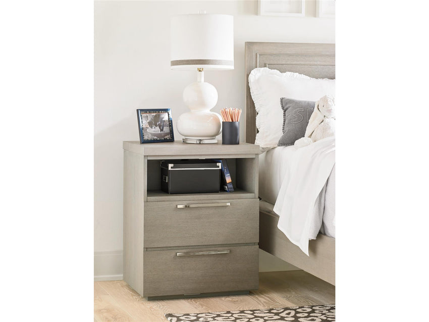 Axis Two Drawer Nightstand