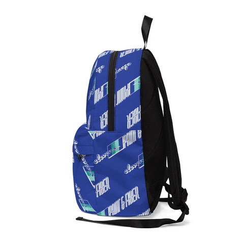 Elevens' Blue Patterned Classic Backpack