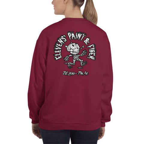 The Casual Dead Crewneck Sweatshirt - Front and Back Design