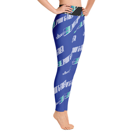 Elevens' P&F Blue Yoga Leggings