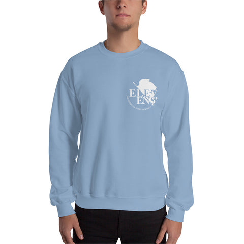 NERV Logo Crewneck Sweatshirt - Red, Baby Blue, or Pink