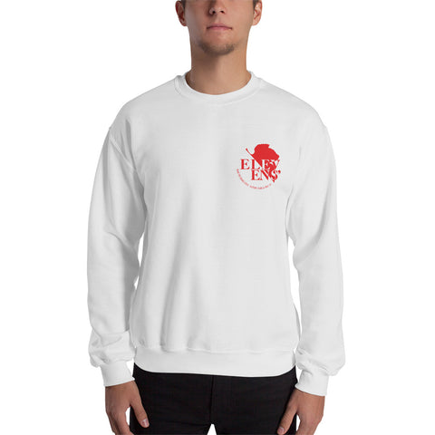 NERV Logo Crewneck Sweatshirt - Black or White