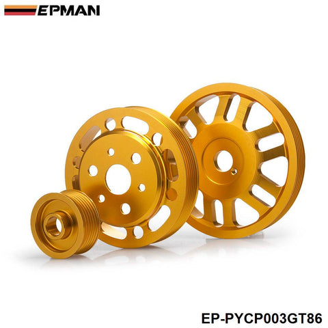 Subaru BRZ/Scion FR-S Lightweight Crank & Power Steering Pulleys