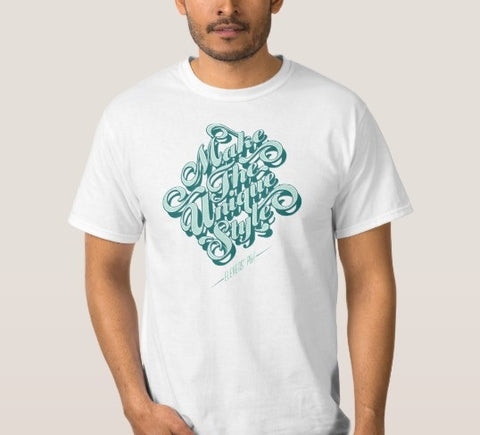 Make The Unique Style Men's T-Shirt White