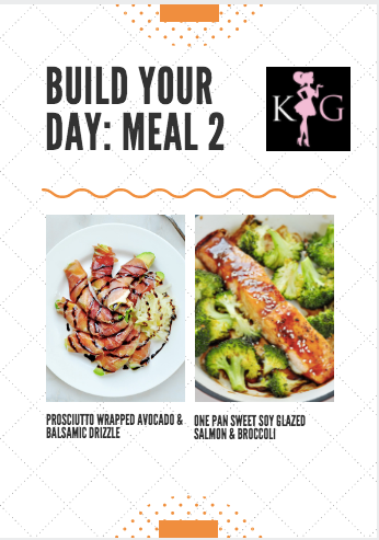 BRAND NEW Build Your Day Custom Meal Plans