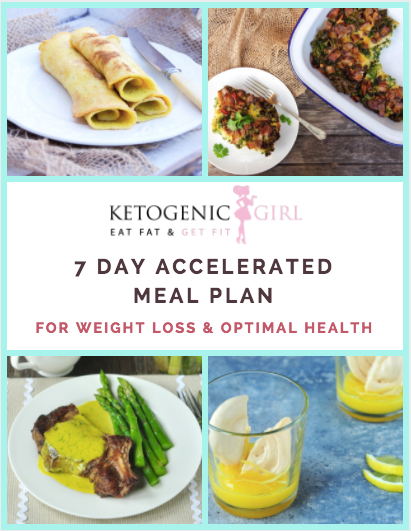 7 Day Accelerated Ketogenic Meal Plan