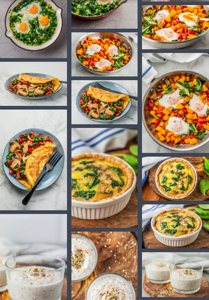 NEW! Vegetarian 28 Day Accelerated Meal Plan  & KetogenicGirl Challenge
