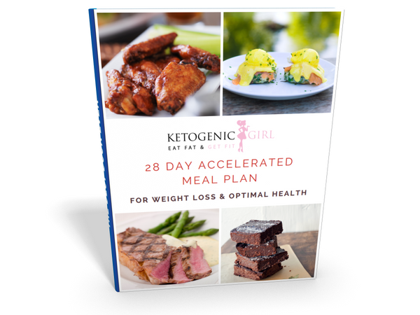 28 Day Accelerated Meal Plan & KetogenicGirl Challenge Instalment Plan