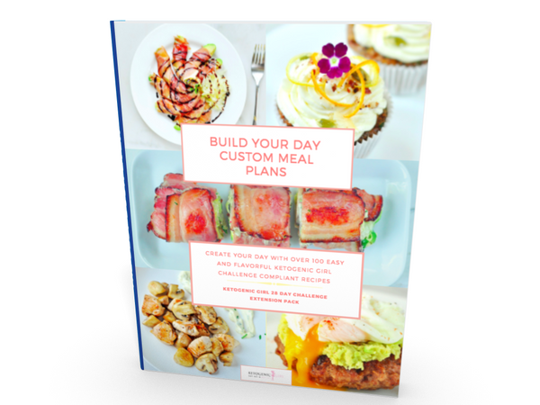 Build Your Day Custom Meal Plans WITH PRINTED BOOK