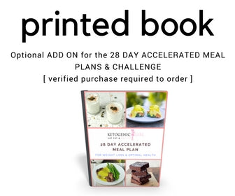 Printing SERVICE ADD ON BOOK for the Current 28 Day Challenge Members