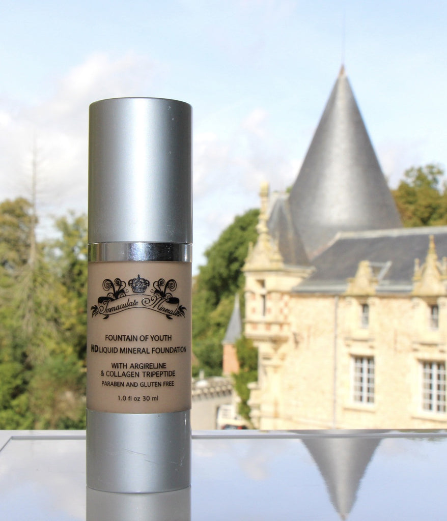 Fountain of Youth HD Liquid Mineral Foundation
