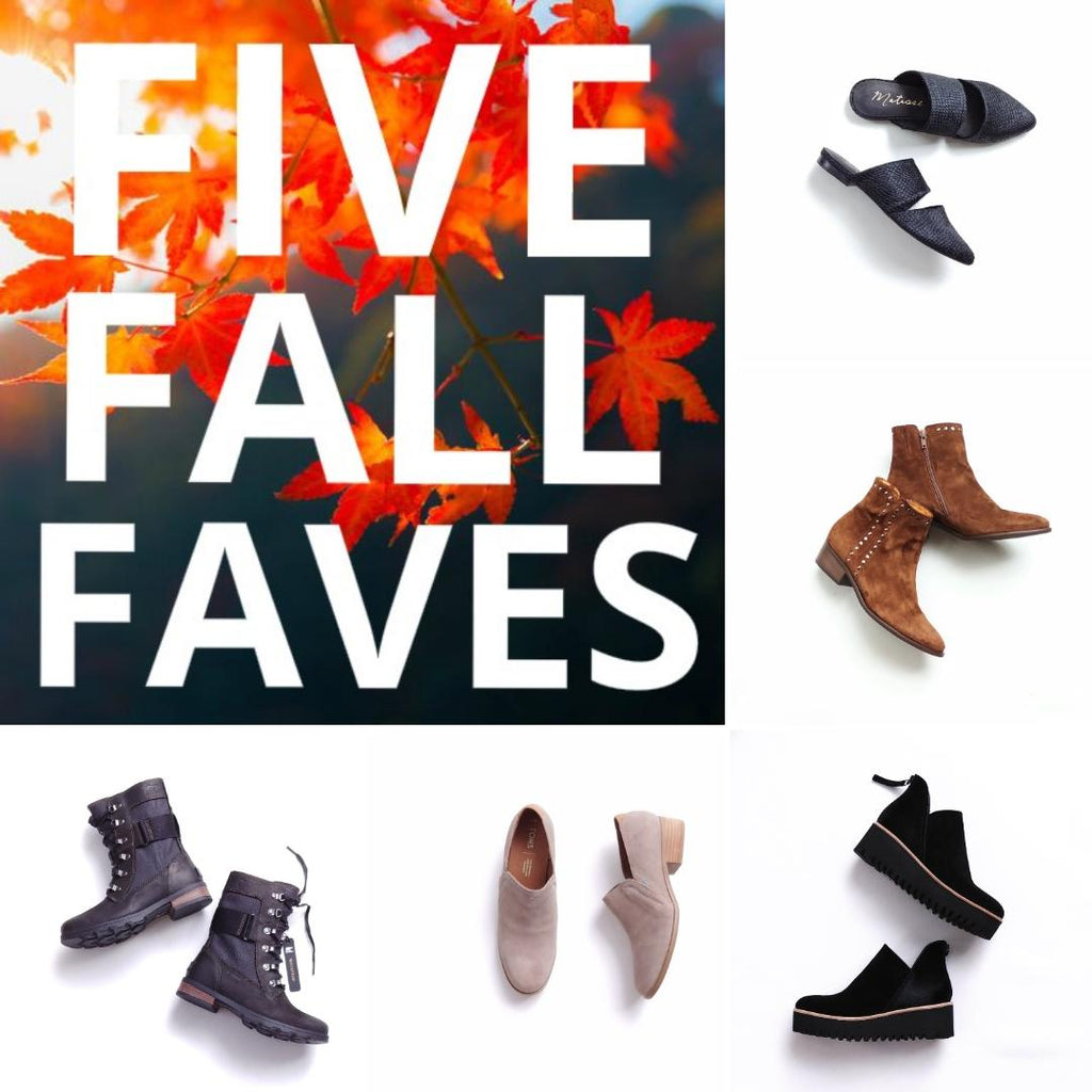 WHAT MAKES THESE OUR  FIVE FALL FAVES?