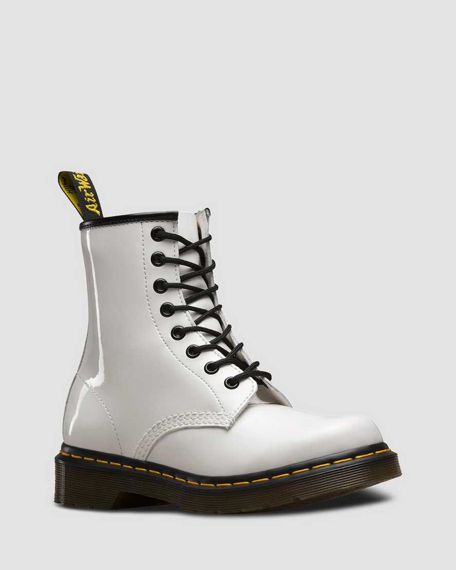DR MARTENS 1460  WOMEN'S BOOT PATENT*TWO COLORS