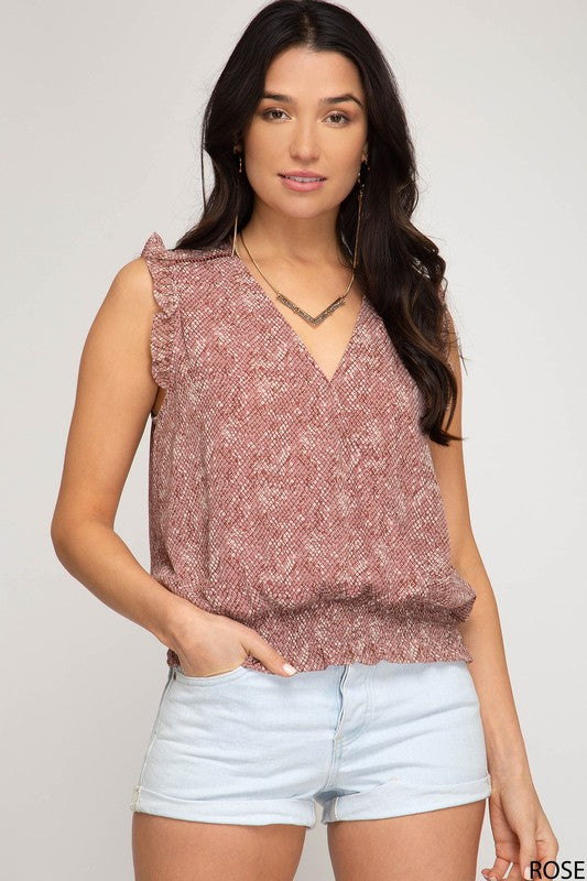 FAITH WOVEN TOP