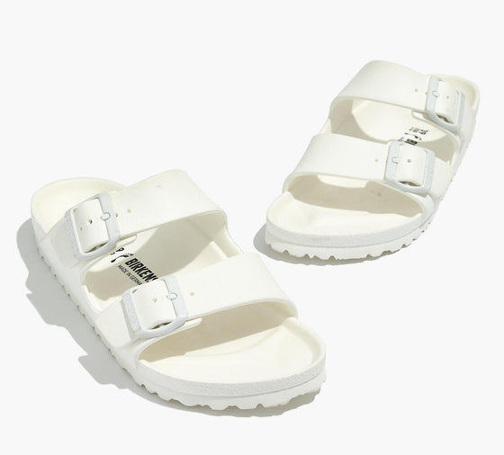 Birkenstock 129443 Women's White ARIZONA EVA N