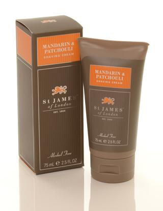 ST JAMES of LONDON M&P SHAVE CREAM 2.5O