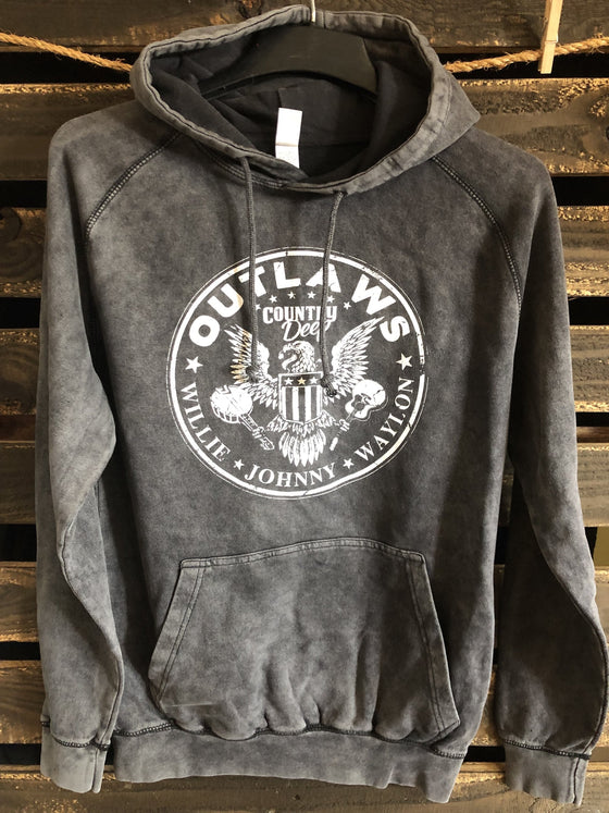 COUNTRY DEEP OUTLAWS HOODY